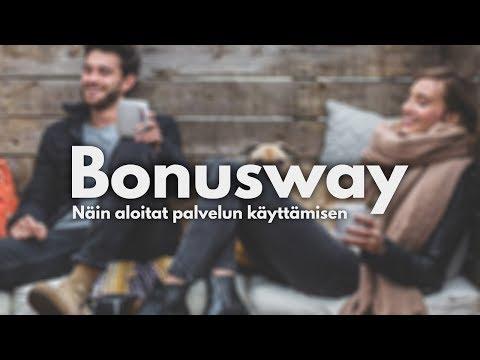 Bonuswayn käyttämisen aloittaminen - Opastaja.com