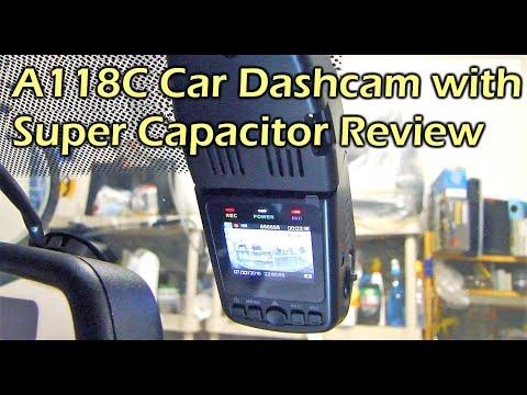 Car Dash Camera Capacitor Model A118C - Gearbest