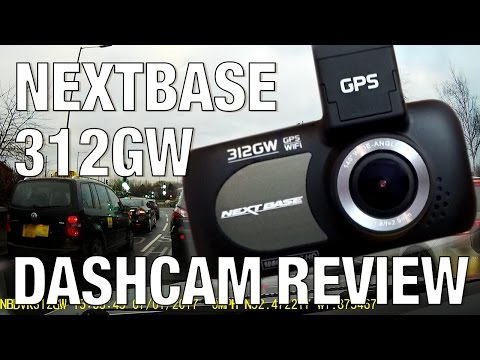 Nextbase 312GW Dash Cam Overview (with footage - day & night)